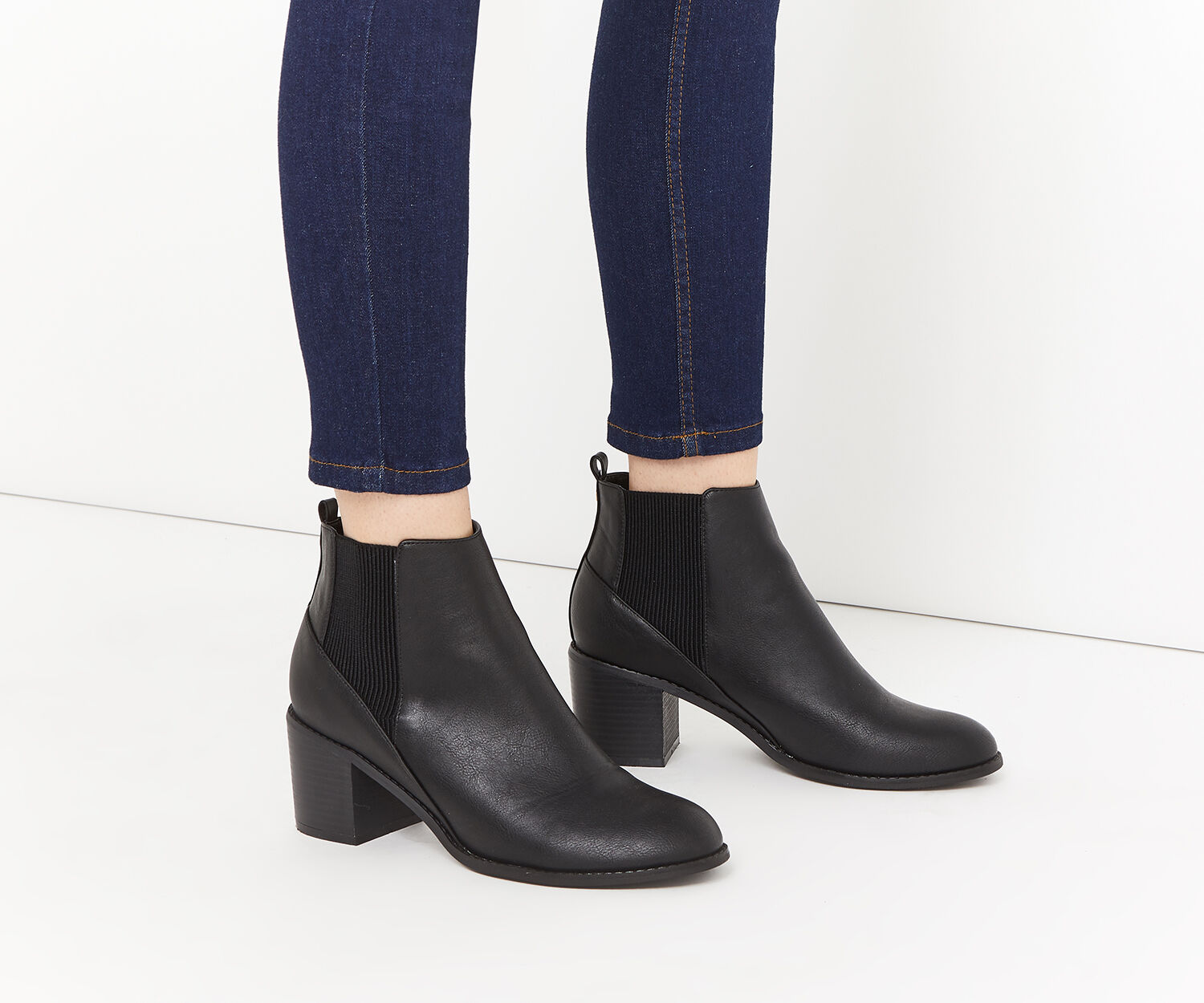 Oasis, FRANKIE CASUAL BOOT Black 1