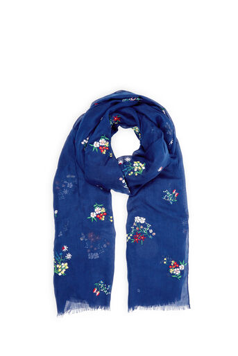 Oasis, FORGET ME NOT SCARF Navy 0