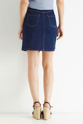 Oasis, The Florence Skirt Denim 3