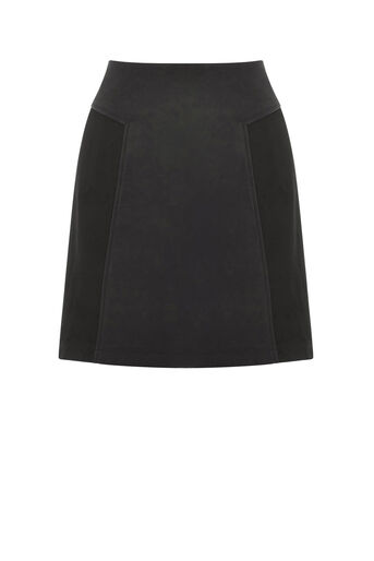 Oasis, THE PATCHED SKIRT Black 0