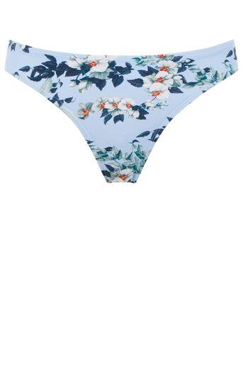 Oasis, Botanical orchid bikini bottom Light Blue 0