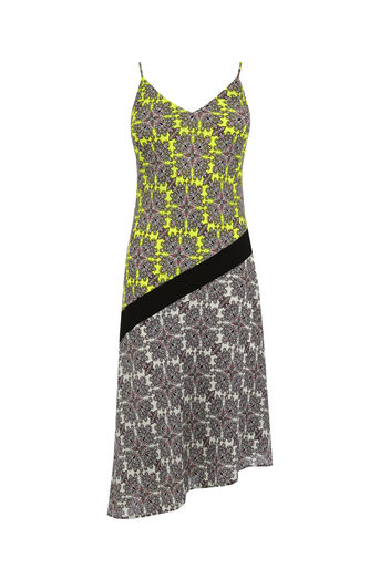 Oasis, Sintra Tile Midi Dress Multi 0