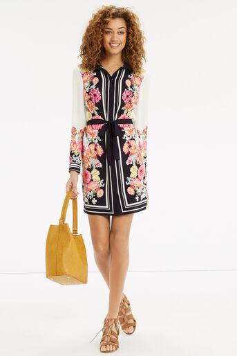 Oasis, Film Floral Shirt Dress Multi 2