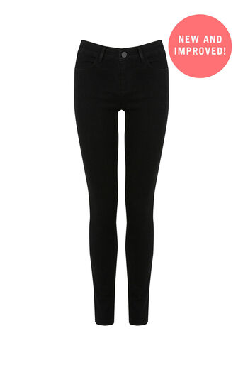 Oasis, Classic Skinny Jeans Black 0