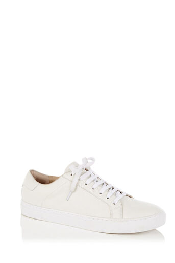 Oasis, LULU LEATHER TRAINER White 0