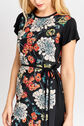 Oasis, FAR EASTERN VINE DRESS Multi Black 4