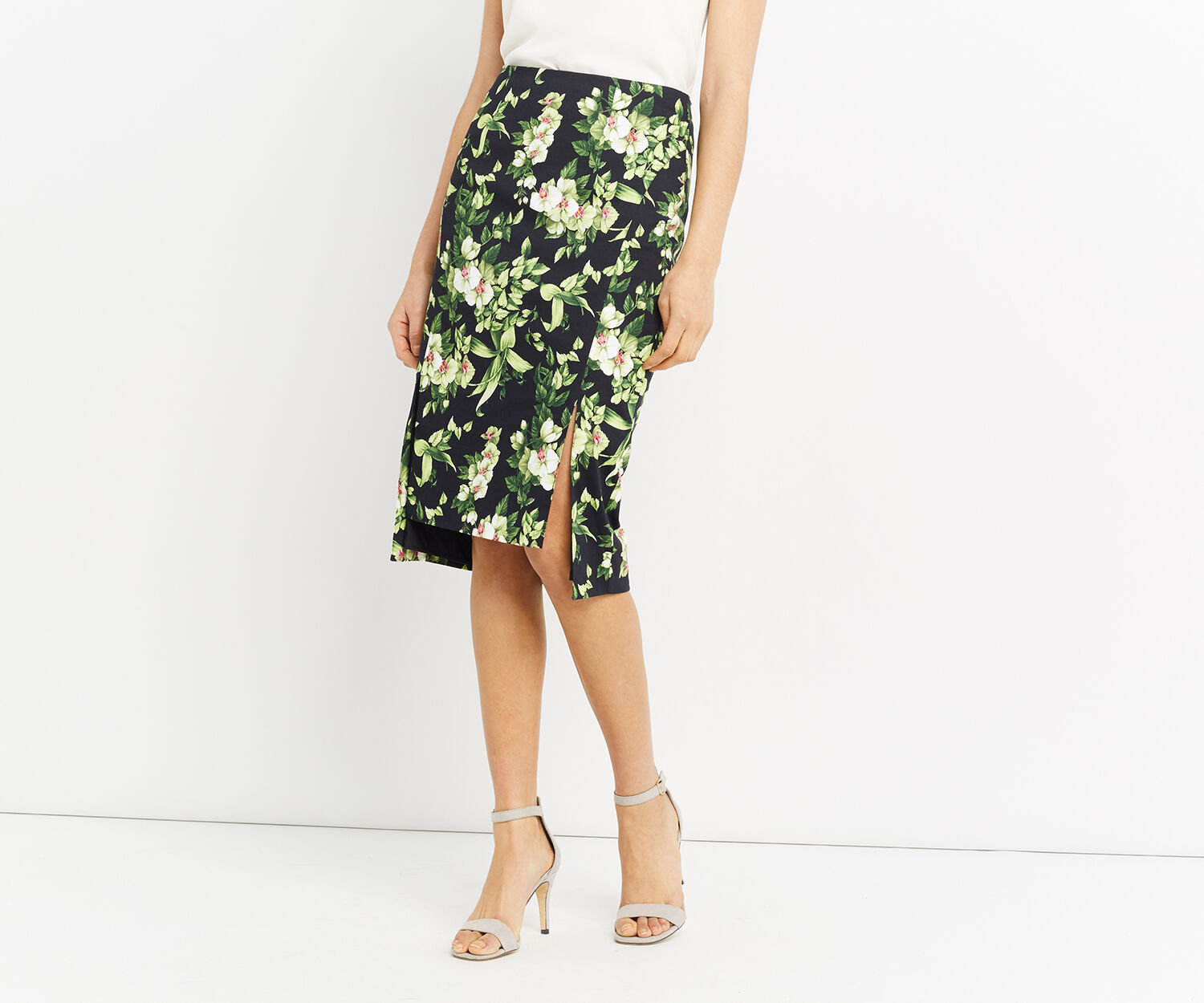 Oasis, TROPICAL BOTANICAL SKIRT Multi 1