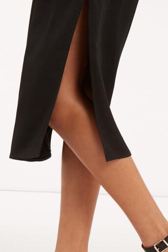 Oasis, Luxe Crepe Slip Dress Black 4