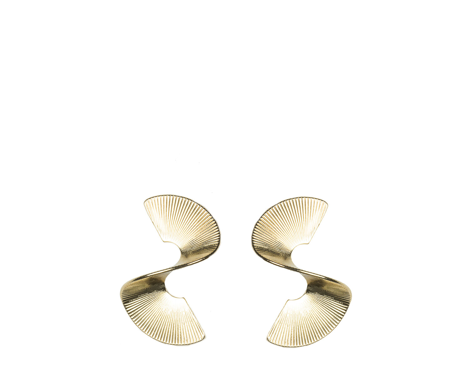 Oasis, TWISTED EARRING Gold 1