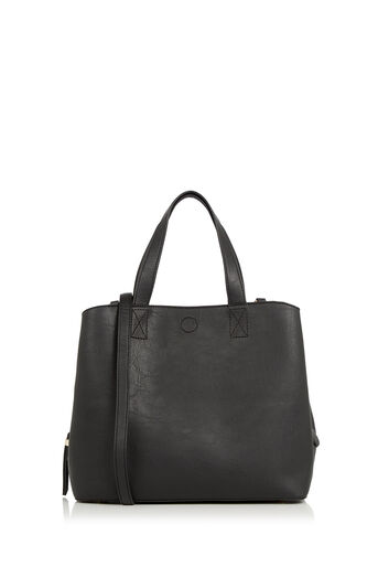 Oasis, Talulah Triple Compartment Bag Black 0