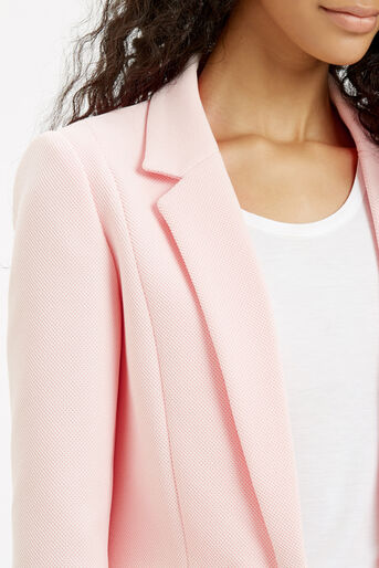 Oasis, TAILORED TEXTURED JACKET Pale Pink 4