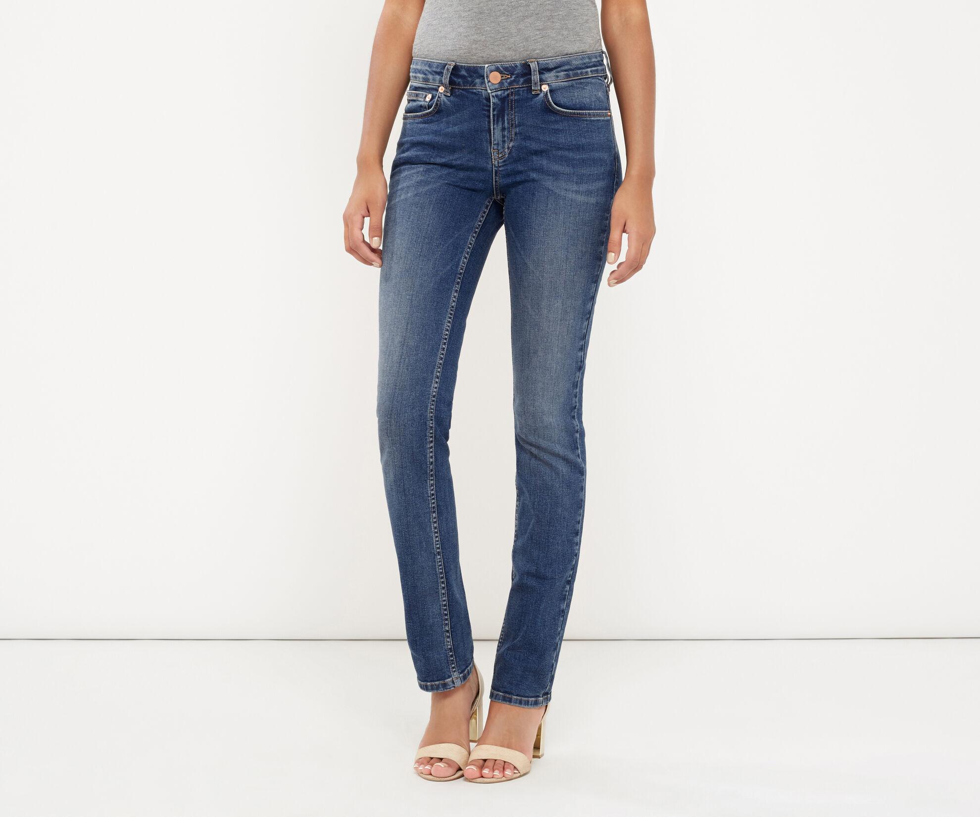 Oasis, Daisy straight leg jean Denim 1