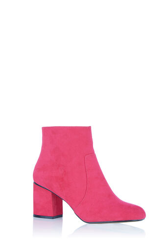 Oasis, KITTY ANKLE BOOT Mid Pink 0