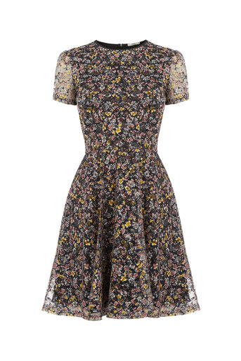 Oasis, DITSY SKATER DRESS Multi 0