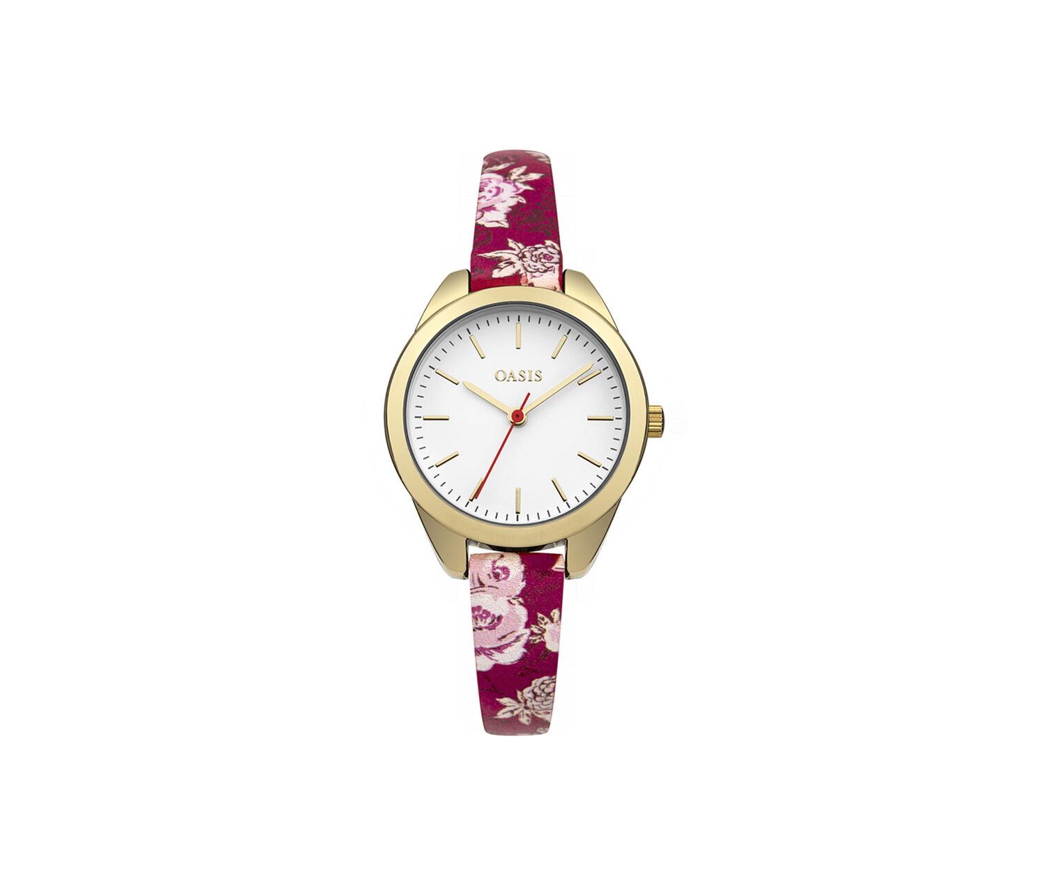 Oasis, Floral Strap Watch Multi Red 1