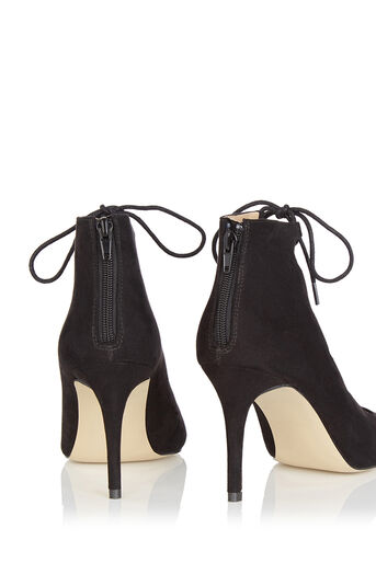 Oasis, Gilly Lace Up Heel Black 2