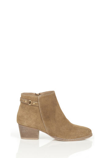 Oasis, SALLY STRAP ANKLE BOOT Mid Neutral 0