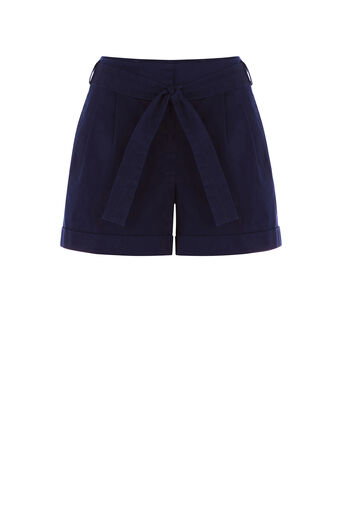 Oasis, CASUAL SHORT Navy 0