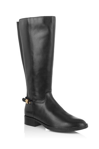 Oasis, LEATHER RIDING BOOT Black 0