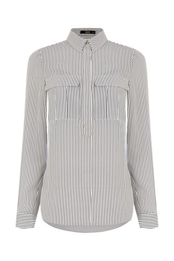 Oasis, Vertical Stripe Shirt Multi 0