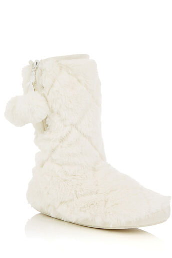 Oasis, FUR BOOT Cream 0