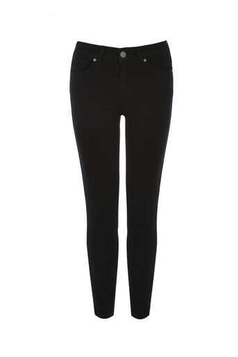 Oasis, BLACK ISABELLA SKINNY CROP Black 0