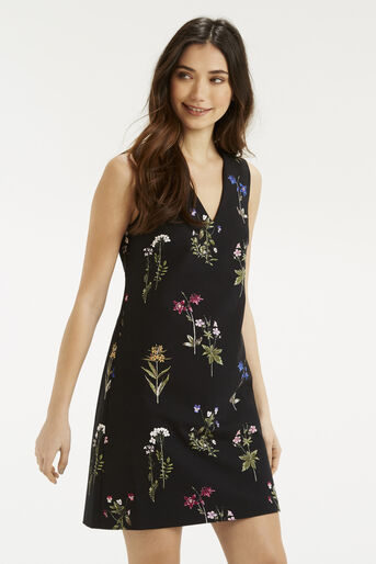 Oasis, Botany V Neck Dress Multi 1