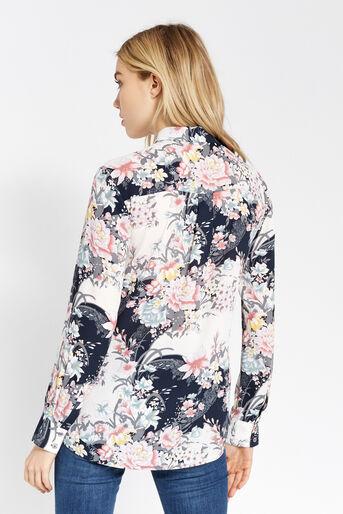 Oasis, Chemise à imprimé lotus Multicolore 3