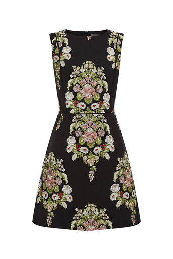 Oasis, DELPHINA JACQUARD DRESS Multi 0