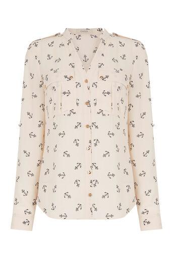 Oasis, Anchor Shirt Multi Natural 0
