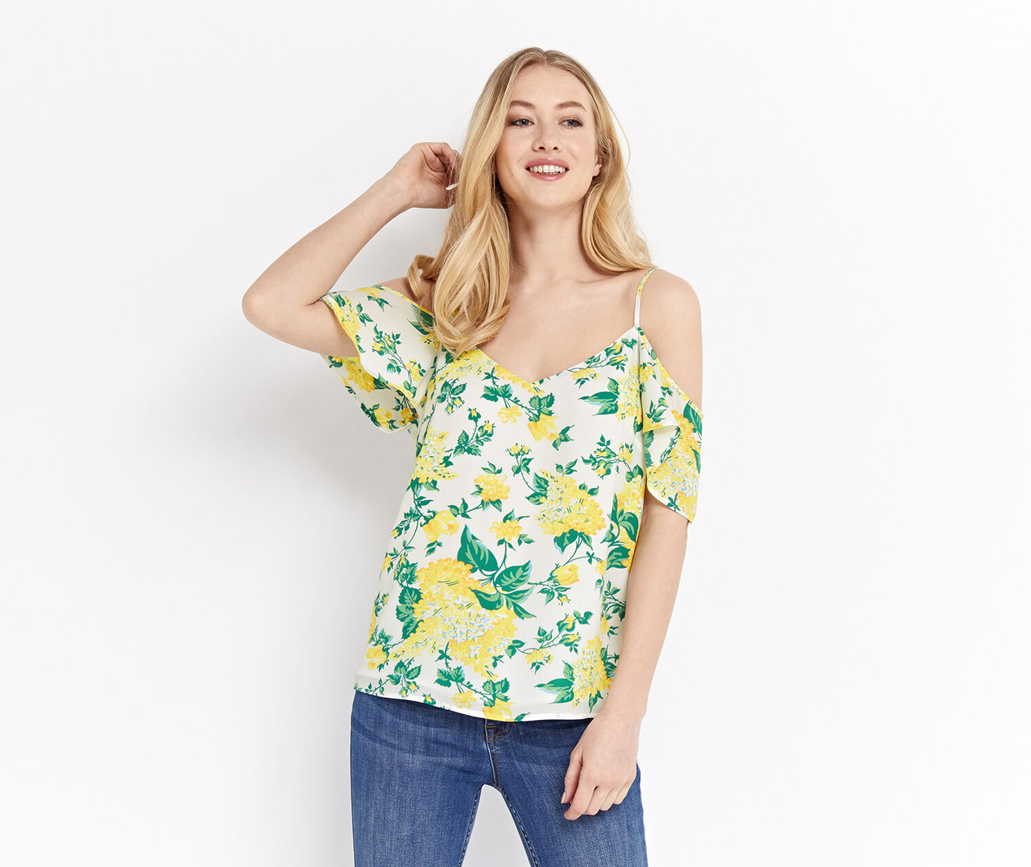 Oasis, SUMMER BLOOM CAMI Multi Natural 1
