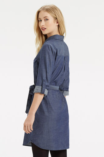Oasis, Gemma Shirt Dress Denim 3