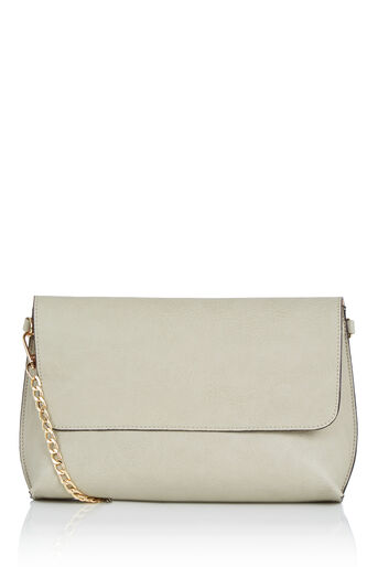 Oasis, REVERSIBLE CLUTCH BAG Multi Grey 0