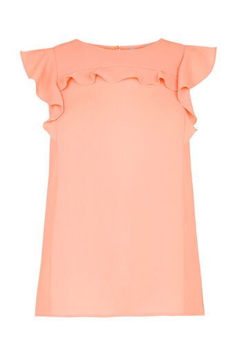 Oasis, Tex Frill Top Coral 0