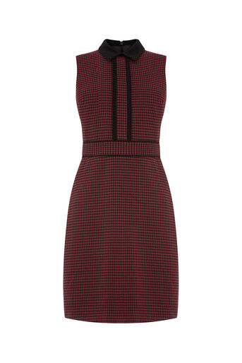 Oasis, LONG LENGTH PUPPYTOOTH DRESS Multi 0