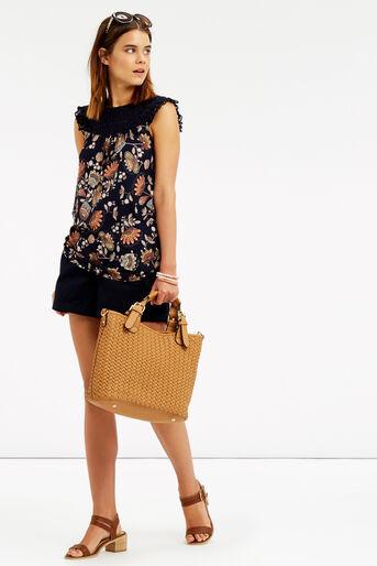 Oasis, Goddess Crochet Top Navy 2