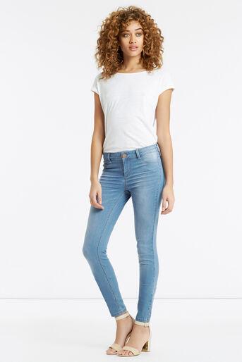 Oasis, Jade Skinny Jeans Light Wash 2