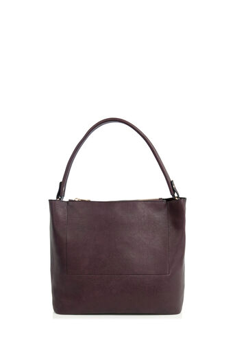 Oasis, HONOUR DOUBLE POCKET HOBO Burgundy 0