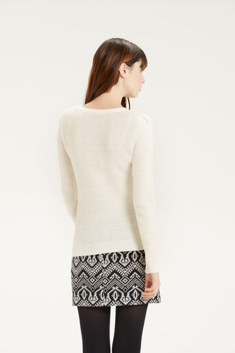 Oasis, Cute Cable Knit Off White 3