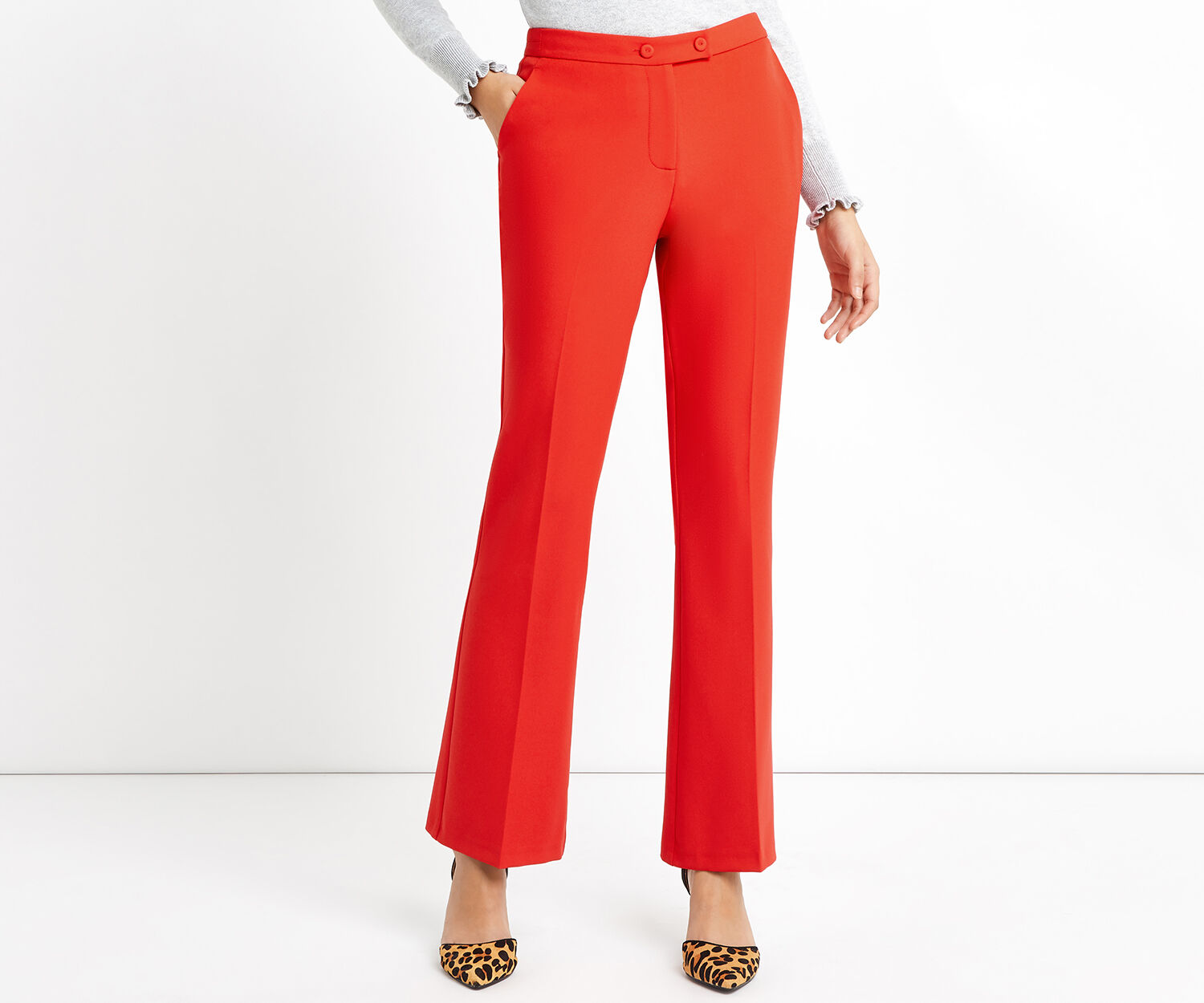 Oasis, ULTIMATE RED SUIT TROUSER Rich Red 1