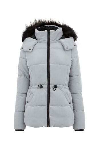 Oasis, SPORTY PADDED JACKET Silver 0