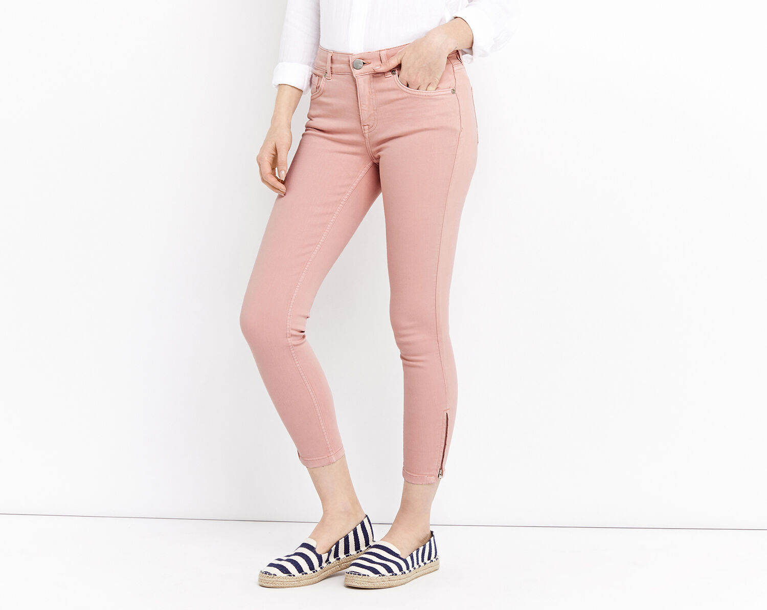Oasis, DUSTY ROSE COLOURED ISABELLA Pale Pink 1