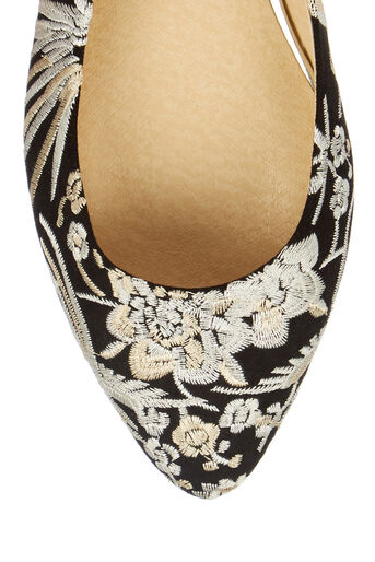 Oasis, EMBROIDERED FLAT POINT Multi Black 3