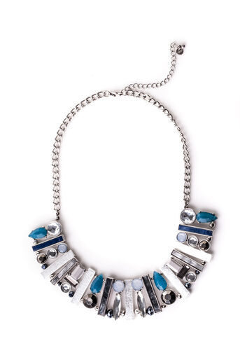 Oasis, ABSTRACT STATEMENT COLLAR Silver 0