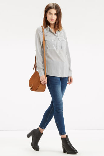 Oasis, Vertical Stripe Shirt Multi 2