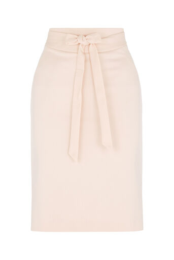 Oasis, Bonnie Workwear Skirt Mid Neutral 0