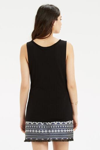 Oasis, Plait Trim Vest Black 3