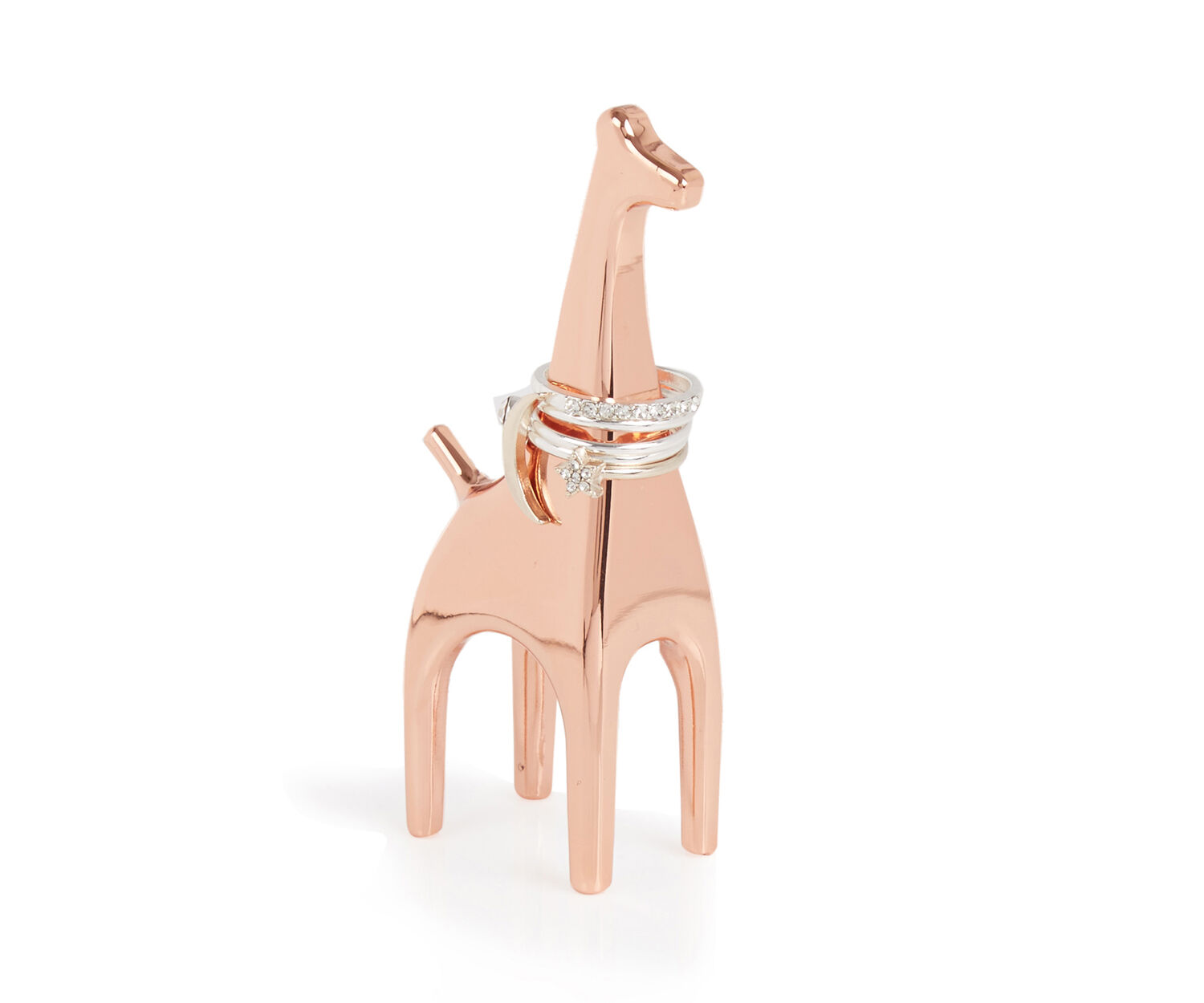 Oasis, GIRAFFE RING HOLDER Gold 1