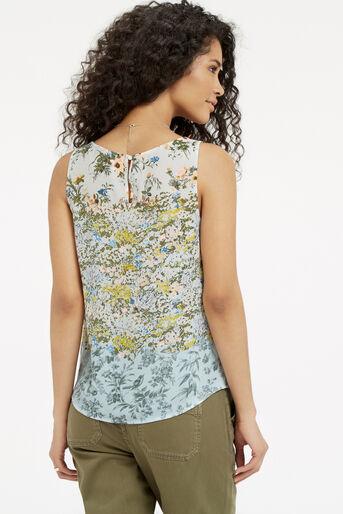 Oasis, Ombre Ditsy Vest Multi 3