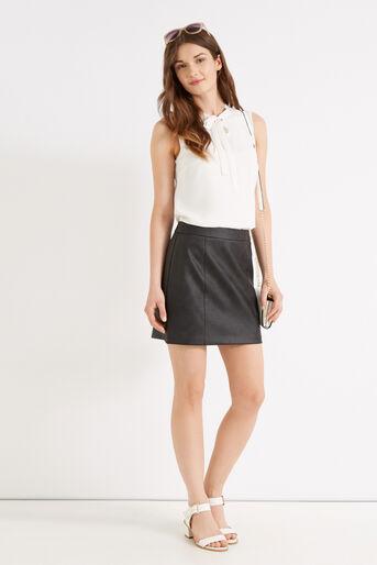 Oasis, Alana Mini Skirt Black 2